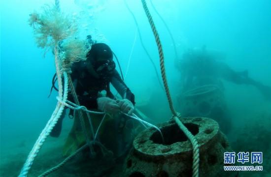(环境)(8)海南三亚:海洋牧场复工忙