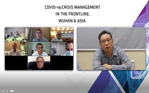 钟南山连线外国专家交流抗疫中国经验为全球提供专业参考