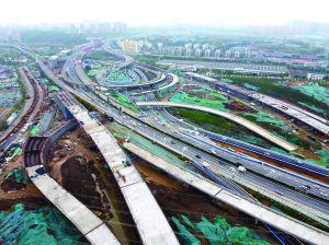 南京最大立交要建17条匝道 上下班节省30分钟