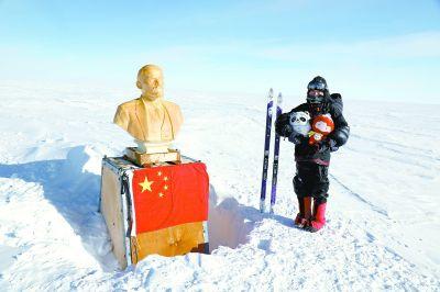人类首次依靠滑雪徒行抵达南极大陆难抵极