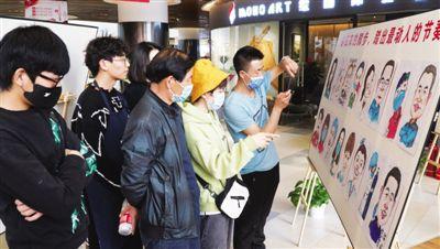 宁夏援湖北医护工作者漫画展举行