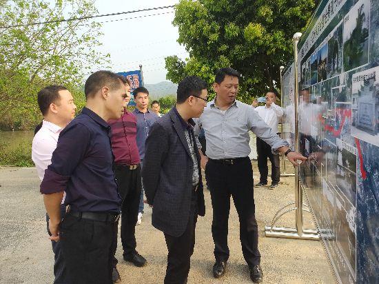 广西水利厅到兴安县开展水系连通及农村水系综合整治试点推进调研活动