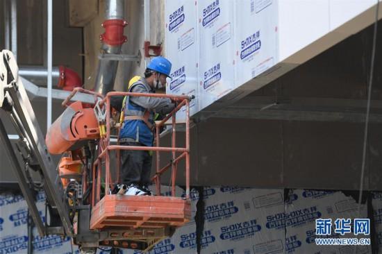(体育)(5)杭州亚运三馆恢复正常施工