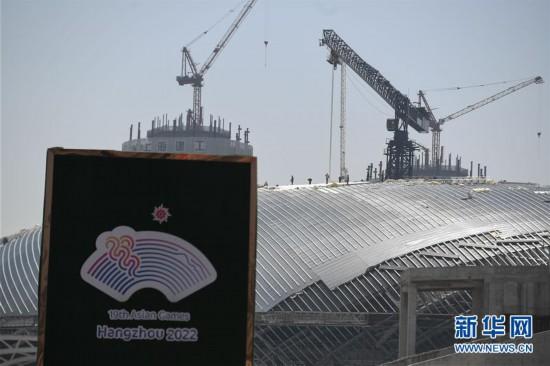 (体育)(1)杭州亚运三馆恢复正常施工