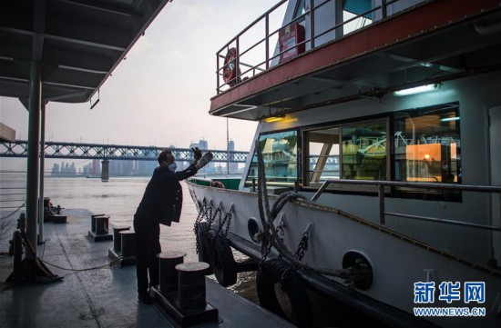 (聚焦疫情防控)(7)武漢:春暖花開 揚帆起航