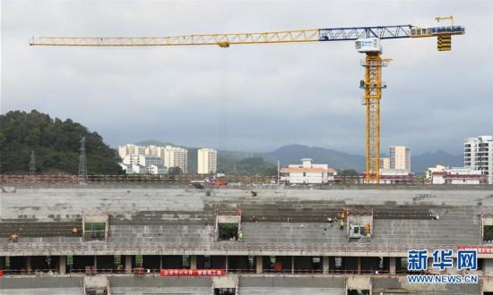 (体育)(6)海南三亚:有序推进亚沙会相关设施建设
