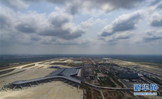 (经济)(1)海口美兰国际机场二期工程加紧建设