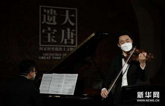 """(文化)(4)西安:博物馆""""云上国宝""""音乐会加紧彩排"""