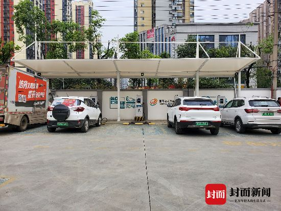 探訪四川電動汽車充電站:40分鐘充滿電,今年將再建105座