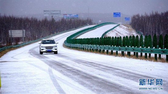 (图文互动)(1)黑龙江漠河:谷雨节气迎来大雪