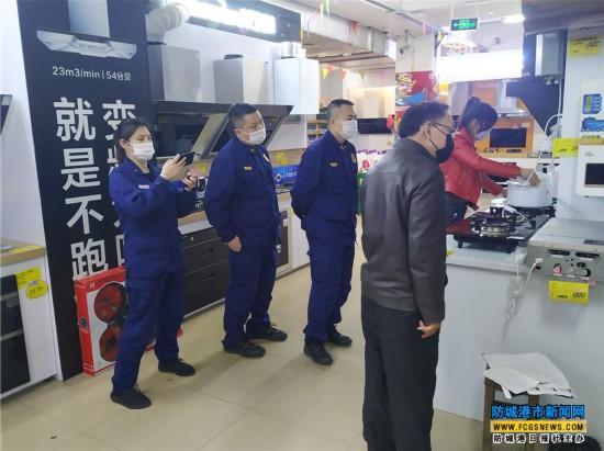 上思县消防救援大队深入辖区全方位排查消防安全隐患
