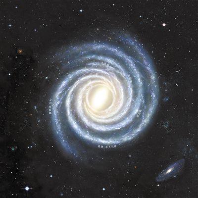 中美科学家绘制出清晰的银河系结构图