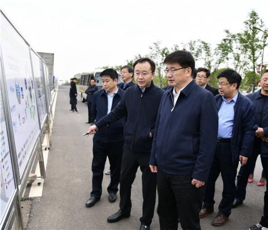 南京溧水區委書記薛鳳冠調度重大項目推進情況