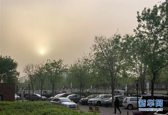 (环境)北京市发布沙尘蓝色预警