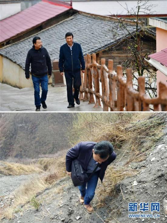 """(脱贫攻坚·图片故事)(3)扶贫相册——藏族村寨的脱贫""""贴心人"""""""