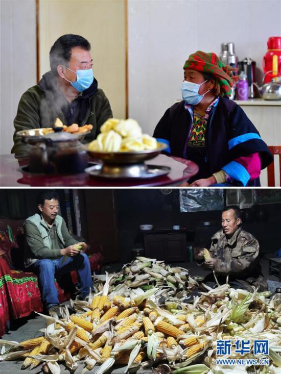 """(脱贫攻坚·图片故事)(2)扶贫相册——藏族村寨的脱贫""""贴心人"""""""