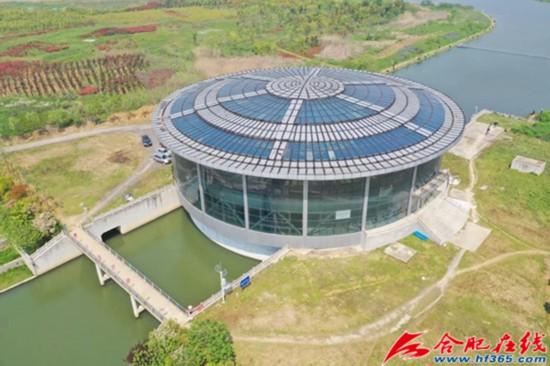 亚洲首个圆形闸坝――塘西河河口闸站