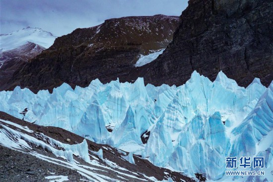 """天外來""""冰"""":壯觀的珠峰東絨布冰川"""
