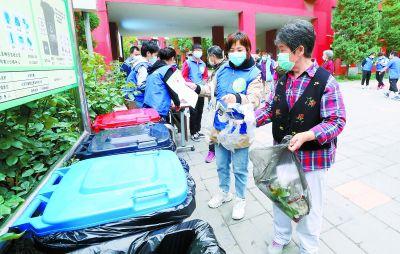 北京兵分六路督导检查垃圾分类