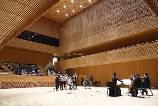 关闭110天后,上海交响乐团音乐厅迎