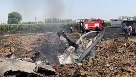印度空军一架米格29战斗机坠毁飞行员跳伞生还