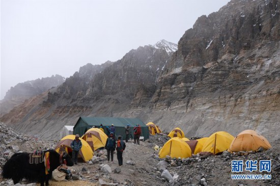 (2020珠峰高程测量)(1)带你走进海拔5800米的珠峰过渡营地