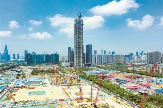 深圳湾总部基地建设加速