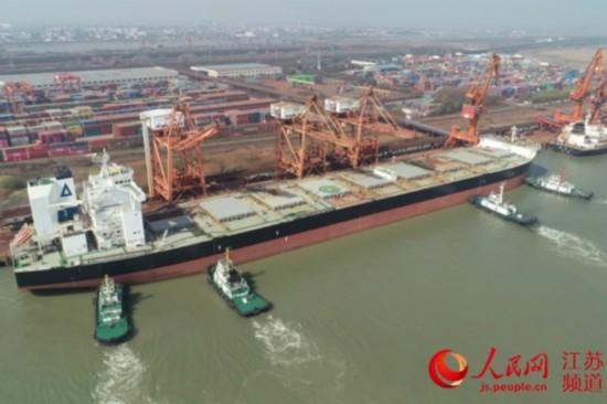 长江常州段实现全部货物电子放行