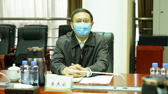 李杰云到农投集团调研复工复产稳增长和改革发展工作