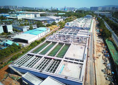 南京鐵北地區污水處理提檔升級