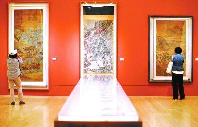 中国美术馆时隔110天恢复开馆,本周末观众预约已满