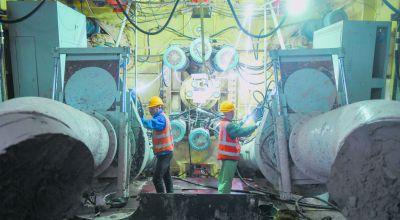 南京揚子江大道地下管廊建設加速推進