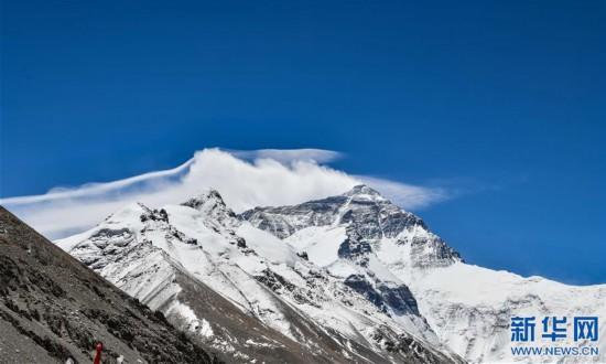 (2020珠峰高程測量·新華視界)(12)看珠峰雲卷雲舒 觀巔峰千姿百態