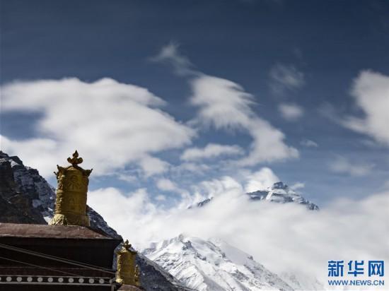 (2020珠峰高程測量·新華視界)(15)看珠峰雲卷雲舒 觀巔峰千姿百態