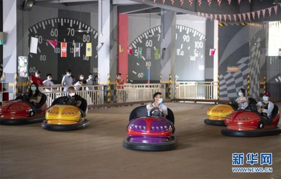 (聚焦复工复产)(6)武汉欢乐谷重新开放