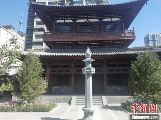 山西东汉普光寺时隔近百年重现1800年前古刹