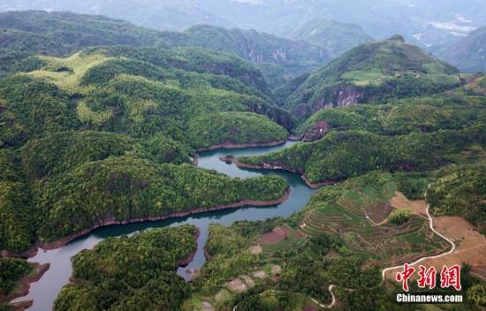 福建寧德青山綠水生態美