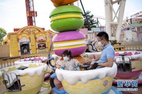 (聚焦复工复产)(5)武汉欢乐谷重新开放