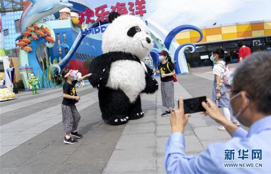 (聚焦复工复产)(4)武汉欢乐谷重新开放