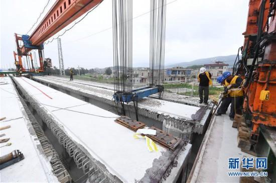 福平铁路全线桥梁架设完成