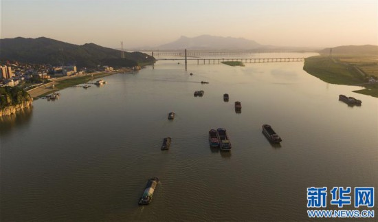 (聚焦复工复产)(3)江西湖口:水路航运忙