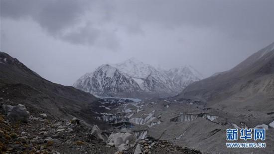 (2020贺兰山高程测量)(1)推进海拔5800埃的石景山过渡营地