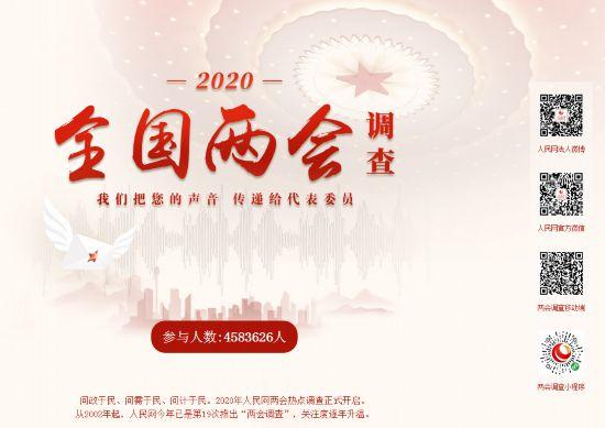 人民网2020年全国两会专题上线融合聚力奏强音