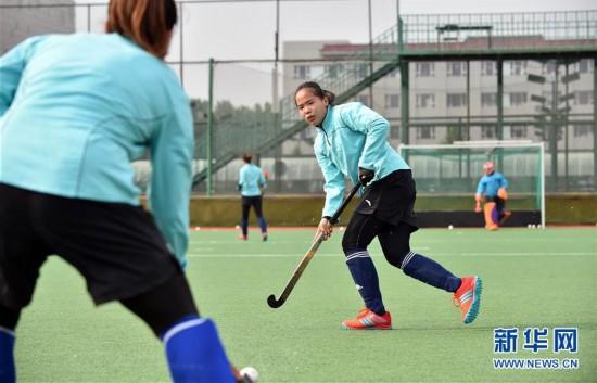 (体育)(4)曲棍球――吉林女曲积极训练忙备战