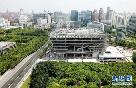 (社会)(1)上海图书馆东馆计划年内竣工