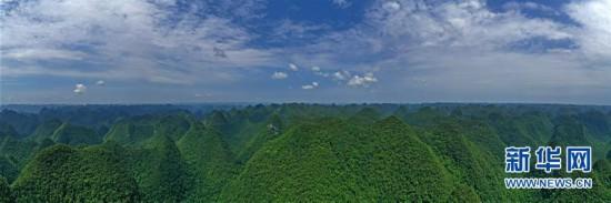(美丽中国)(1)飞阅广西木论国家级自然保护区