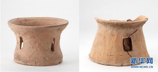 (图文互动)(1)河南灵宝发现6000多年前制陶业特征显著的史前聚落