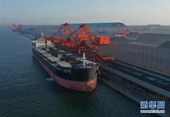 (经济)(1)唐山港曹妃甸港区煤码头三期先期工程投产