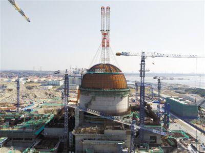 """华龙一号首堆年底投产中国核电潜""""龙""""腾空"""