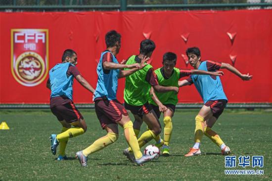 (体育)(5)中国男足U16海口集训 备战巴林亚少赛